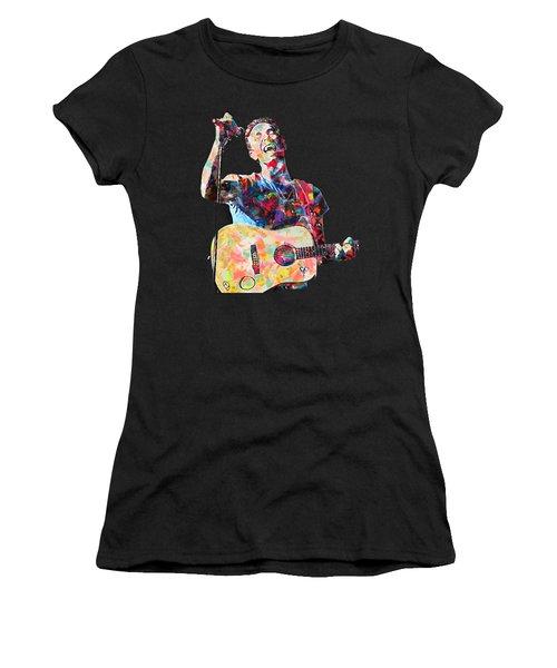 Chris Martin Women's T-Shirt (Athletic Fit)