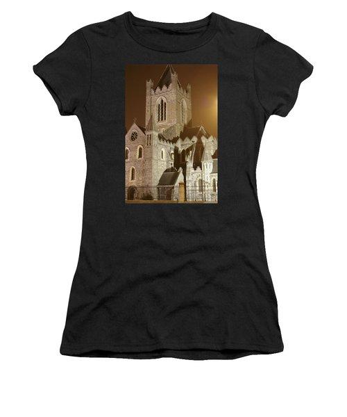 Christ Church Dublin Ireland Women's T-Shirt (Athletic Fit)