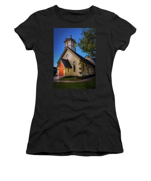 Women's T-Shirt featuring the photograph Christ Episcopal Church by Allin Sorenson