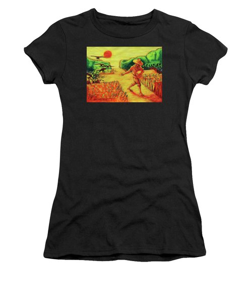 Christian Art Parable Of The Sower Artwork T Bertram Poole Women's T-Shirt (Athletic Fit)