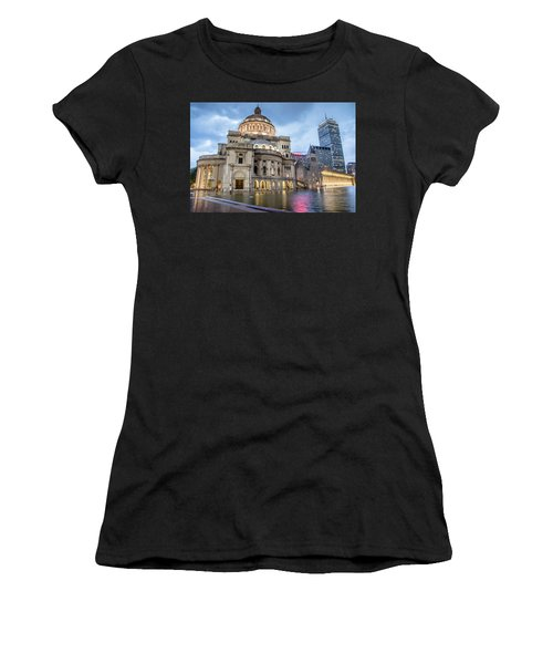 Christian Science Center In Boston Women's T-Shirt (Athletic Fit)