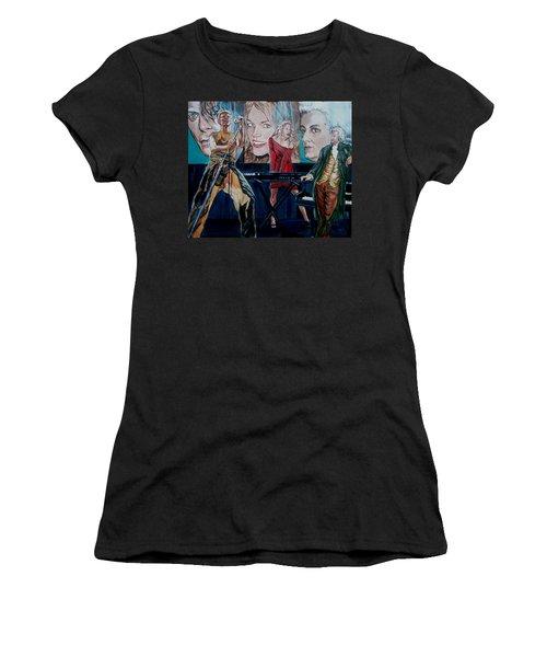 Christine Anderson Concert Fantasy Women's T-Shirt (Junior Cut) by Bryan Bustard