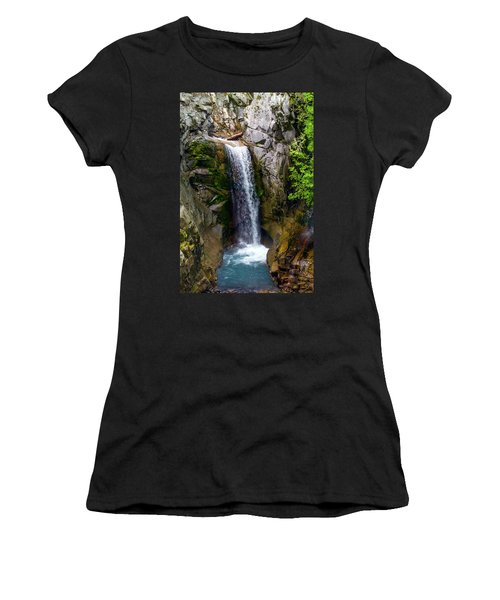 Christine Falls Mt Rainier Women's T-Shirt