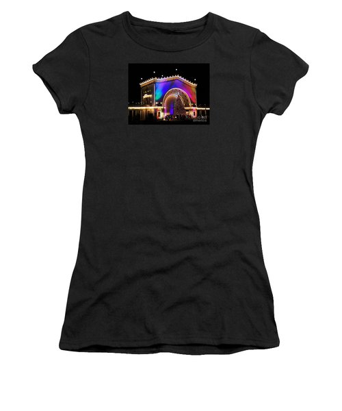 Christmas Celebration In San Diego  Women's T-Shirt (Junior Cut) by Jasna Gopic