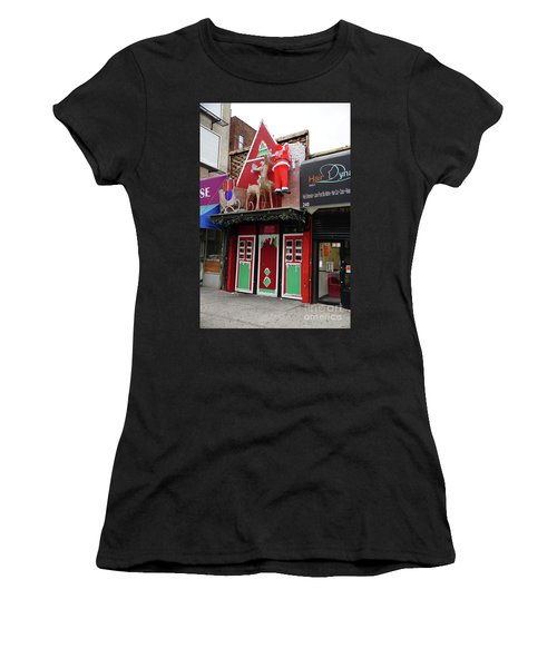 Christmas On Sherman Avenue  Women's T-Shirt