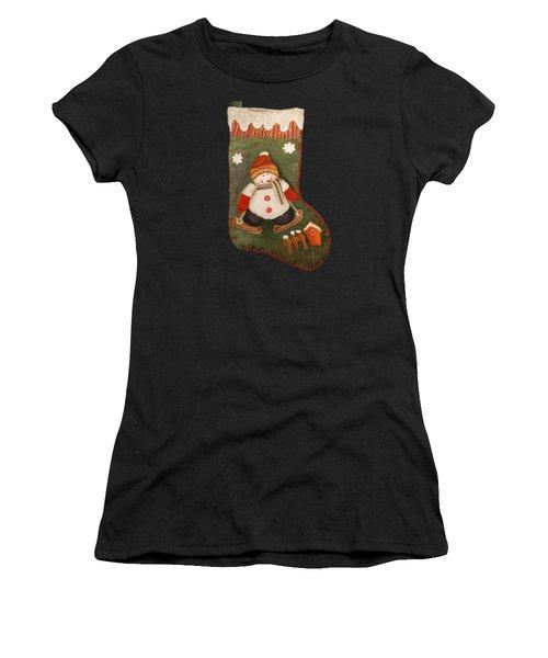 Christmas Stocking Women's T-Shirt