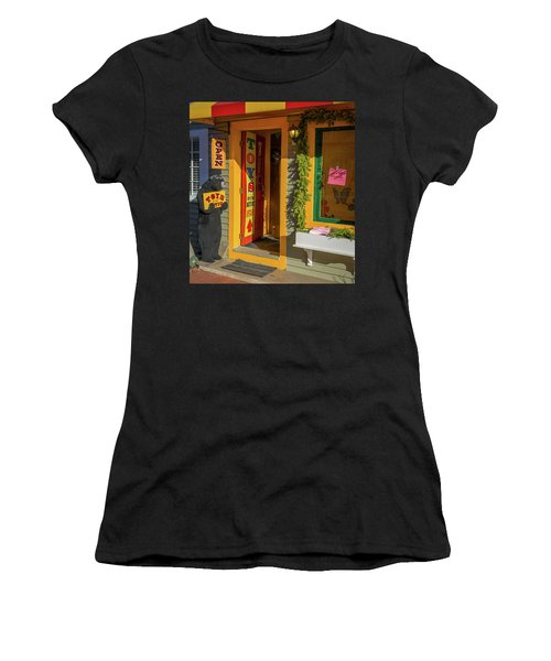Christmas Toys In The Attic Women's T-Shirt (Athletic Fit)