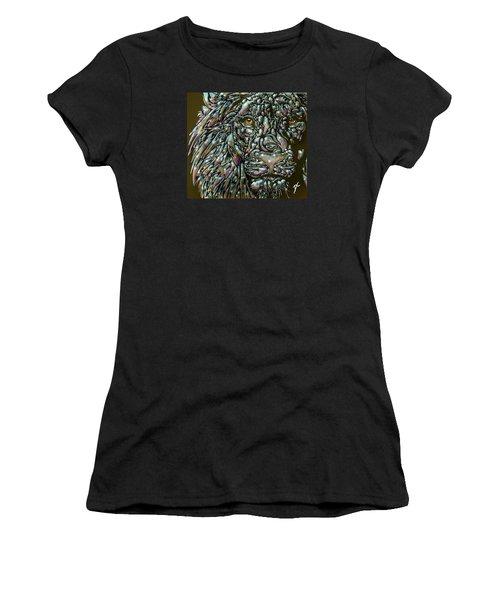 Chrome Lion Women's T-Shirt