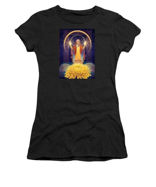 Chrysanthemum - Light In The Darkness Women's T-Shirt