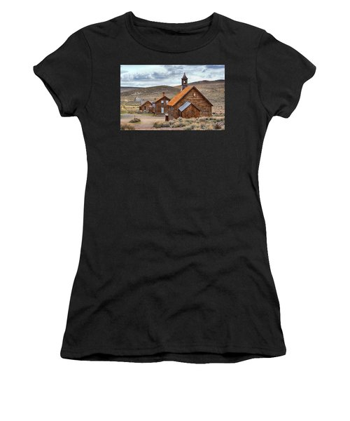 Church At Bodie Ghost Town Women's T-Shirt