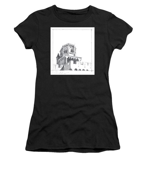 Church At Chamalieres Women's T-Shirt