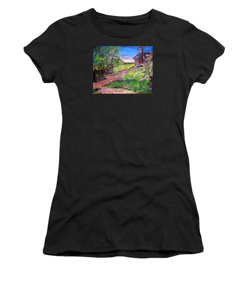 Church In The Woods Women's T-Shirt