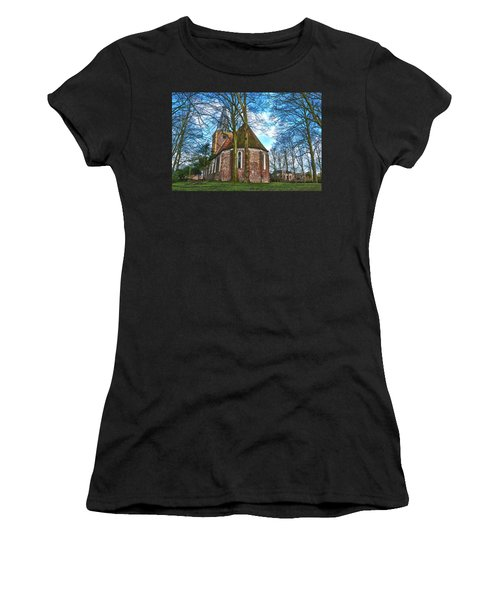 Church In Winsum Women's T-Shirt (Athletic Fit)