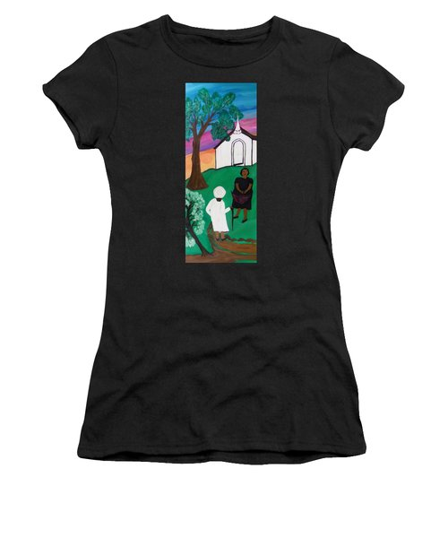 Church Ladies  Women's T-Shirt (Athletic Fit)
