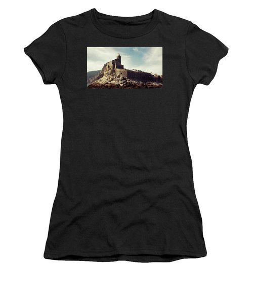 Church Of San Pietro Women's T-Shirt (Junior Cut) by Joseph Westrupp