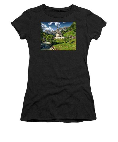 Church Of St. Sebastian Women's T-Shirt