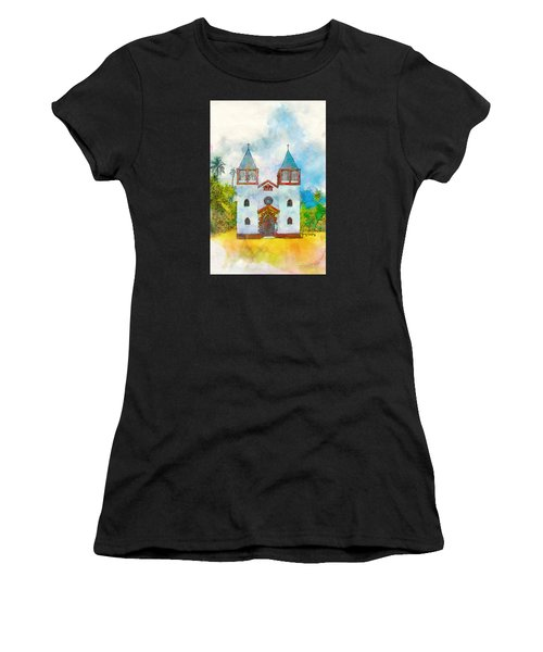 Church Of The Holy Family Women's T-Shirt (Athletic Fit)