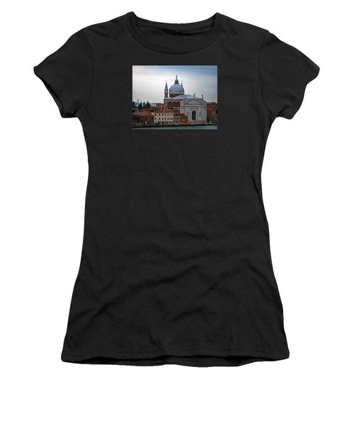 Church Of The Santissimo Redentore On Giudecca Island In Venice Italy Women's T-Shirt (Athletic Fit)