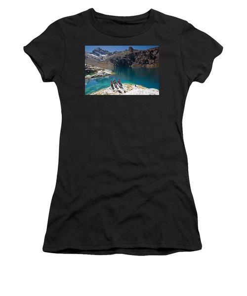 Churup Lake Women's T-Shirt