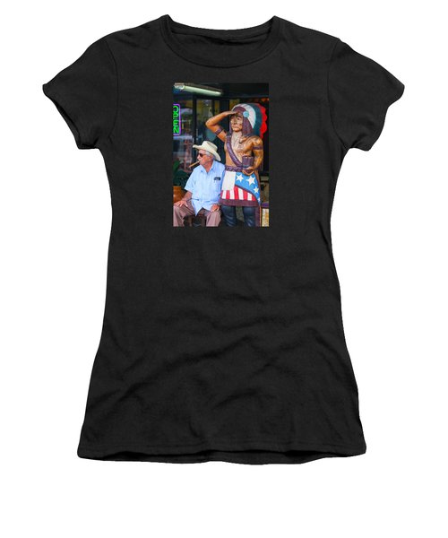 Cigar Indian Women's T-Shirt (Athletic Fit)