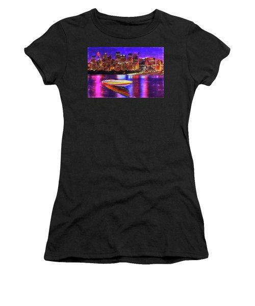 Cigarette Calm Women's T-Shirt (Athletic Fit)