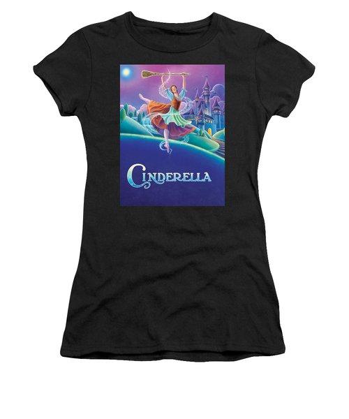 Cinderella Poster Women's T-Shirt