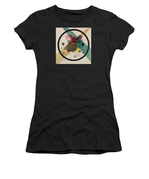 Circles In A Circle Women's T-Shirt (Athletic Fit)