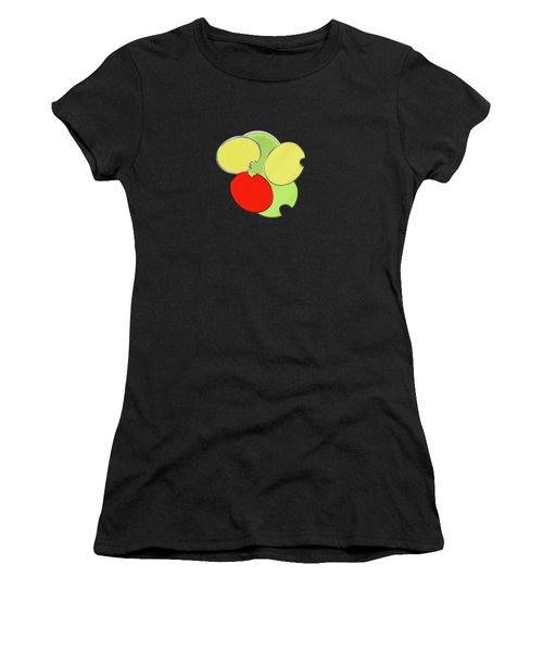 Circles Of Red, Yellow And Green Women's T-Shirt