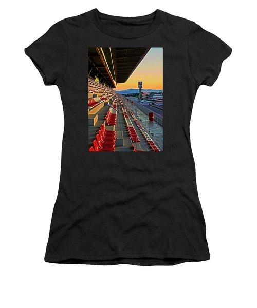 Circuit De Catalunya - Barcelona  Women's T-Shirt (Junior Cut) by Juergen Weiss