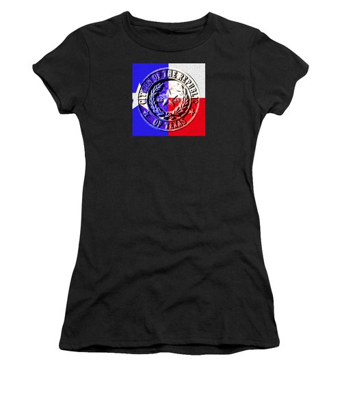 Citizen Of The Republic Of Texas Women's T-Shirt (Athletic Fit)