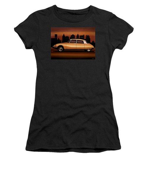 Citroen Ds 1955 Painting Women's T-Shirt