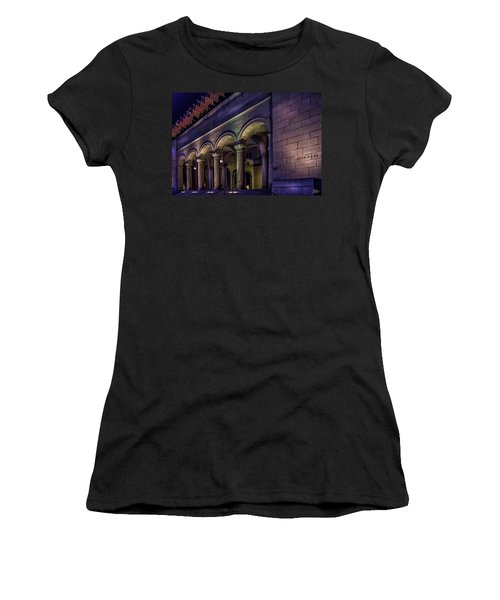 City Hall At Night Women's T-Shirt