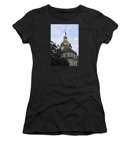 City Hall Savannah Women's T-Shirt (Athletic Fit)
