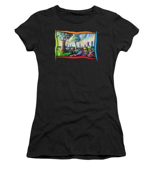 City Life Women's T-Shirt (Athletic Fit)