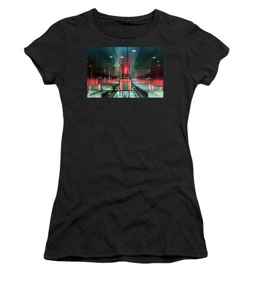 City Metro Station Hamburg Women's T-Shirt