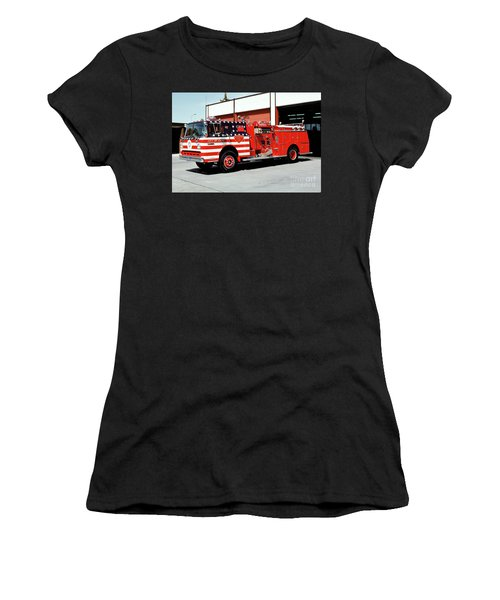 City Of Napa Van Pelt Engine 3 Women's T-Shirt (Athletic Fit)