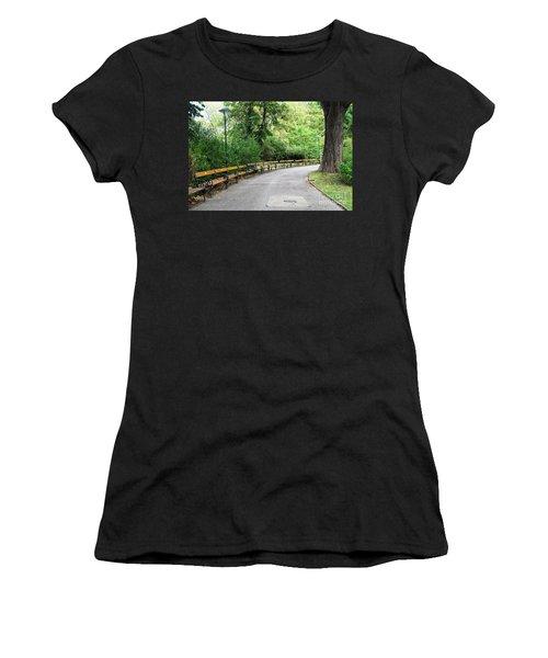 City Park, Vienna Women's T-Shirt (Junior Cut) by Christian Slanec