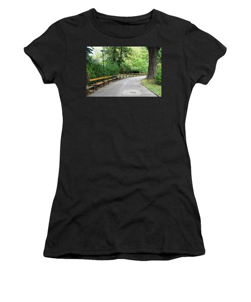 City Park, Vienna Women's T-Shirt (Athletic Fit)