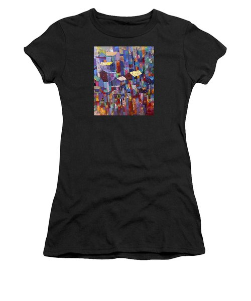 City Scape 1 Women's T-Shirt (Athletic Fit)