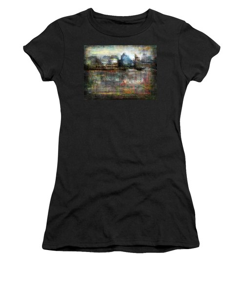 Cityscape #33. Silent Windows Women's T-Shirt (Junior Cut) by Alfredo Gonzalez