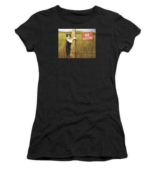 Civil Disobediance Women's T-Shirt (Athletic Fit)