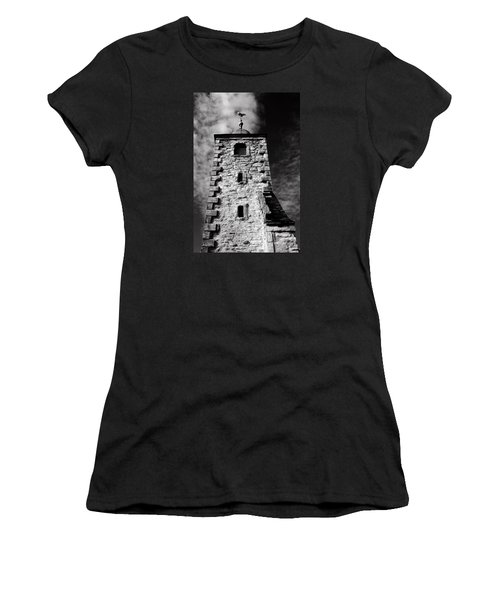 Clackmannan Tollbooth Tower Women's T-Shirt (Junior Cut) by Jeremy Lavender Photography