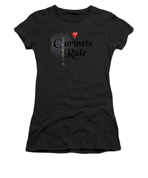 Clarinets Rule Women's T-Shirt (Athletic Fit)
