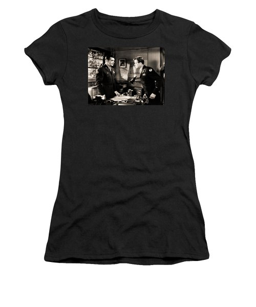Clark Gable Appearing In Command Decision Women's T-Shirt