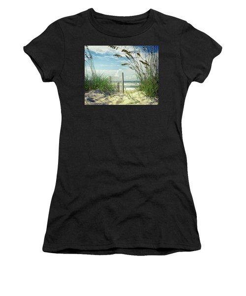 To The Beach Sea Oats Women's T-Shirt