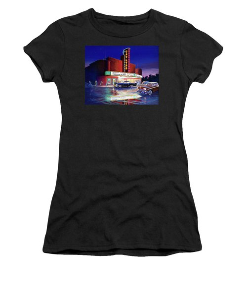 Classic Debut -  The Gaylynn Theatre Women's T-Shirt (Athletic Fit)