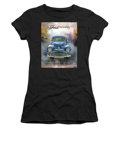 Classic Ford Taunus Deluxe Women's T-Shirt (Athletic Fit)