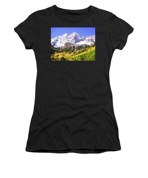 Classic Maroon Bells Women's T-Shirt