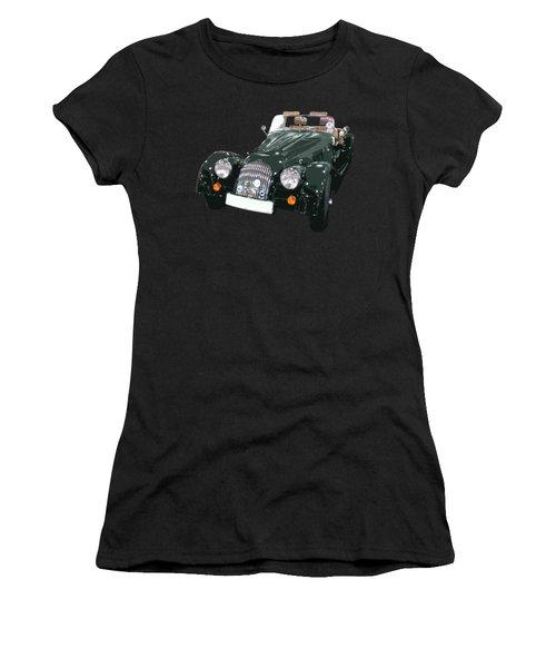 Classic Motor Art In Green Women's T-Shirt