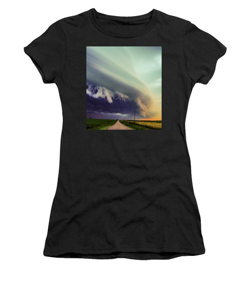Classic Nebraska Shelf Cloud 024 Women's T-Shirt